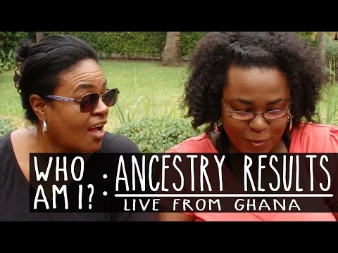 My Ancestry DNA Results (Live from Ghana)
