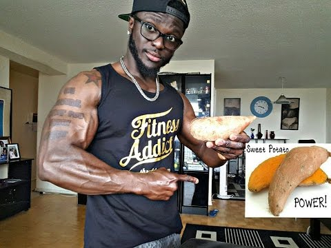 How To Cook Sweet Potatoes (Clean Bodybuilding Carbs Recipe)