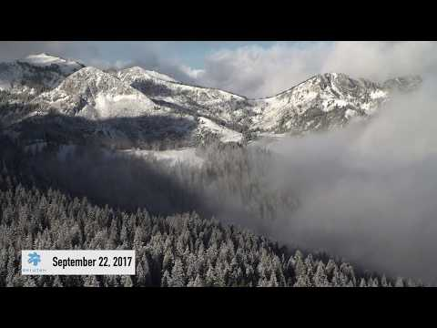 First Snow of the Season 9-22-2017