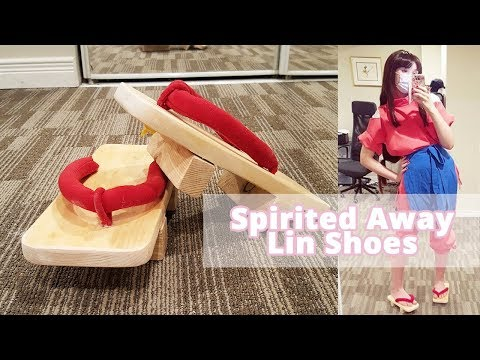 Making Geta shoes for my Lin Spirited Away Cosplay!