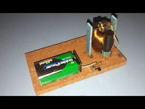 Experiment running DC motor without magnet