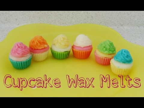 DIY Mini Cupcake Wax Melts