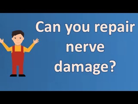 Can you repair nerve damage ? | Best Health FAQ Channel