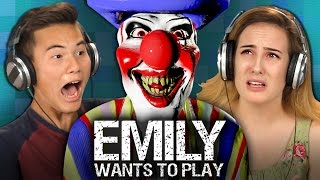 Download EMILY WANTS TO PLAY (Teens React: Gaming) Video