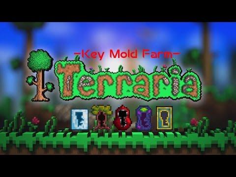 Terraria:How To Make A Key Mould Farm