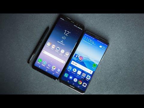 Huawei Mate 10 Pro vs Note 8: The big battle!