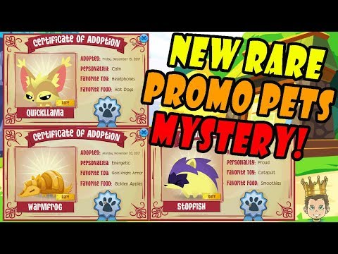 Conspiracy? New Mystery Rare Promo Series 4 Pets in Animal Jam!
