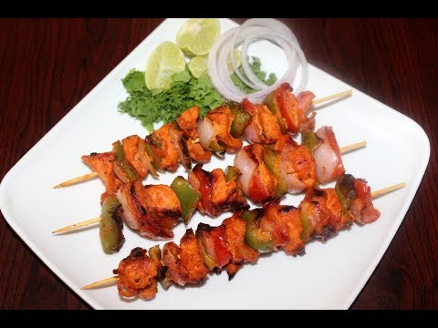 chicken tikka kabab without oven or tandoor- chicken kabab