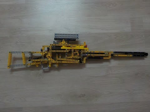 POWERFUL LEGO WORKING SNIPER RIFLE!
