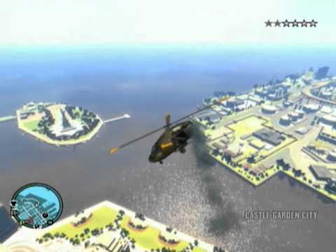 (GTA4) fly helicopter without tail