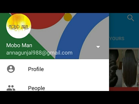 How to edit or add profile picture or cover photo for gmail on android