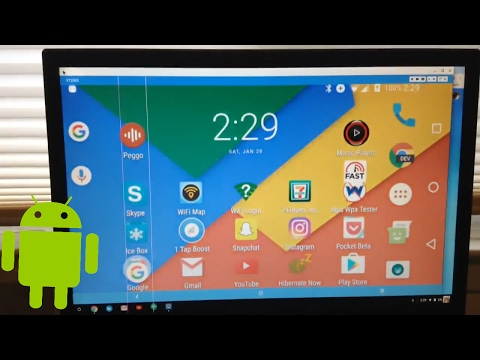 How to run Android on a Chromebook (With your phone or tablet!) 2017!