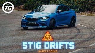 STIG DRIFTS: BMW M2 CS; 444bhp, 406lb ft plus limited-slip diff | Top Gear