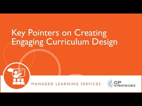 Key Pointers on Creating Engaging Curriculum Design