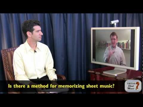 How to memorize sheet music? - Interview with Professor Todd Ehle about violin playing