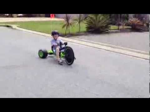How to drift on a Green Machine