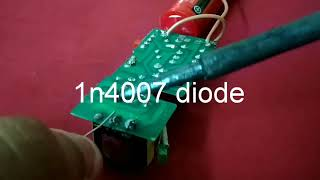How to make high voltage generator - DIY Mosquito Zapper - Vidly xyz