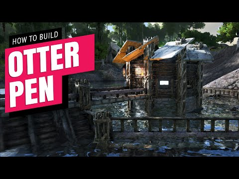 Otter Pen How To Build | Ark Survival