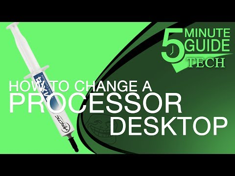 How To Change a Processor in a Desktop computer