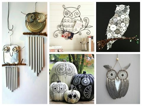 Owl Craft Ideas – DIY Owls Decorations