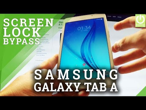 Hard Reset SAMSUNG Galaxy Tab A 7.0 (2016) - Remove Password