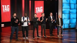 The Cast of 'Tag' Tries to Get in the 'Last Word'