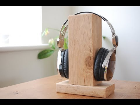 Headphone Stand Designs : How to build your own headphone stand