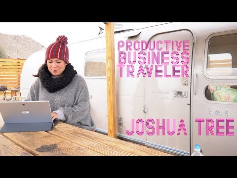 The Productive Business Traveler at Joshua Tree