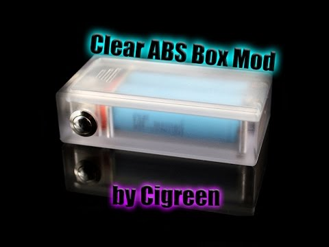 Clear ABS Box Mod Review by Cigreen