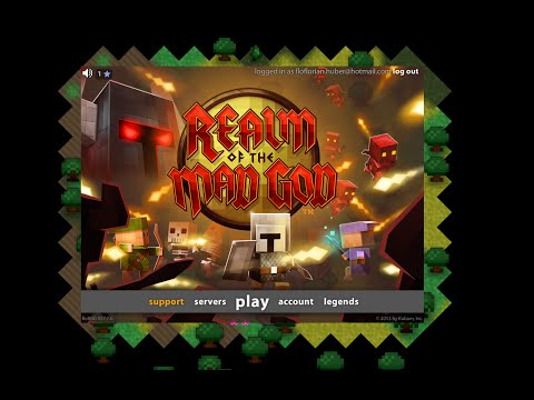 Playing RotMG with a bigger vision without hacks + Using flash player to play RotMG tutorial