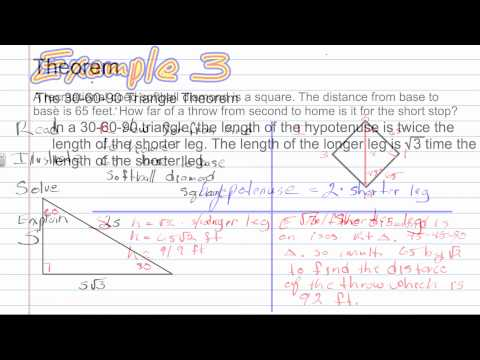 Special Right Triangles | Geometry How To Help