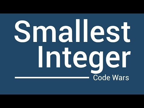 Find the Smallest Integer