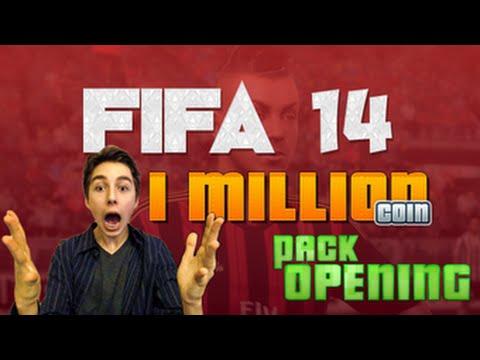 FIFA 14 Ultimate Team Ep.1 - 1 MILLION Coin Pack Opening | PS4