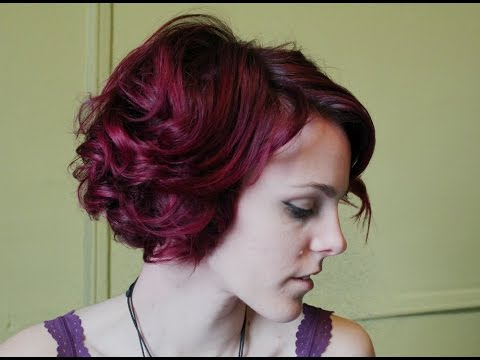 How to Curl Short Hair for Vintage Hairstyles