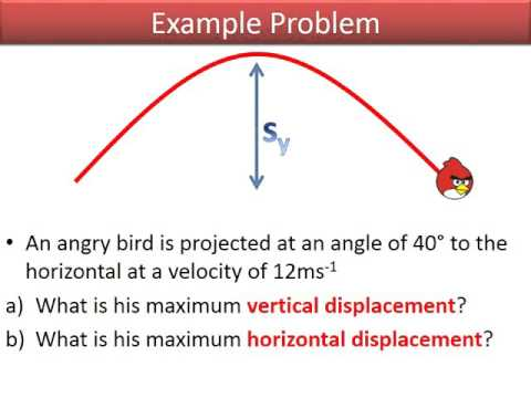 Intro to AS Physics Projectile motion