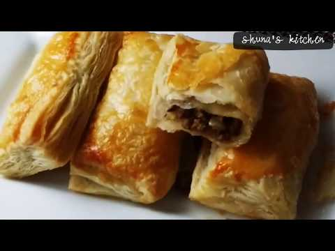 Beef in Puff Pastry using Homemade Puff Pastry