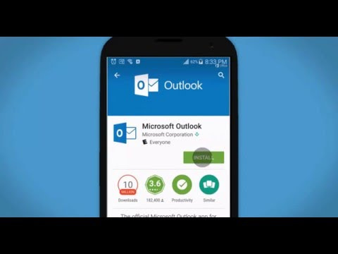 how to Set up Outlook 2016 from Office 365 on an Android device