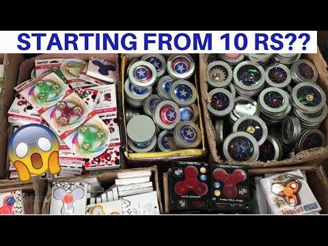 Cheapest Fidget Spinner Market[Wholesale/Retail] | Sadar Bazar | Delhi