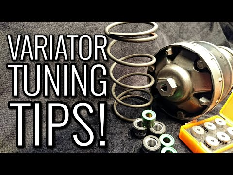 VARIATOR CVT TUNING TIPS! HOW TO Make Your Scooter Faster!