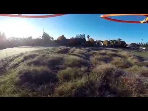 DJI Phantom ll FIRST FLIGHT test run with gopro black