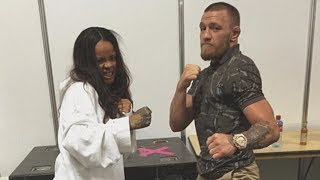 Rihanna Supports Conor McGregor