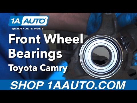 How to Replace Front Wheel Bearing 92-03 Toyota Camry