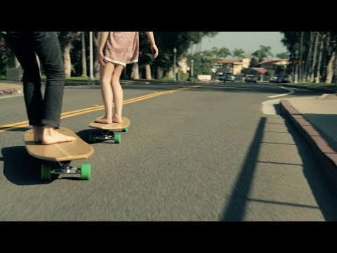 Hamboards crew longboard sessions // surf & skate