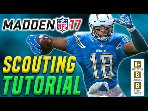 Scouting Tips in Madden 17 Franchise Mode (MrHurriicane Teambuilding Ep.1)
