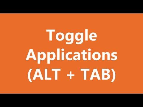 Excel Shortcuts - Toggle Applications