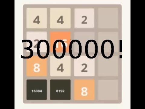 2048 tiles 16384 and 8192, more than 300,000 points