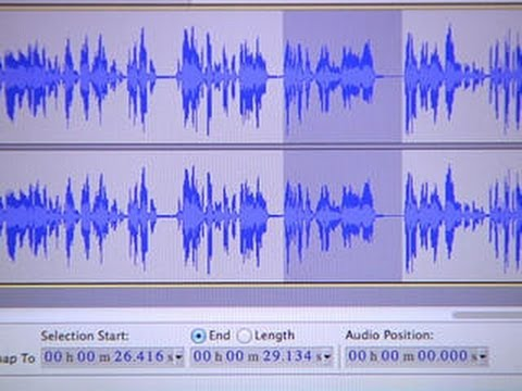 CNET How To - Edit your podcast using Audacity