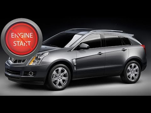Cadillac SRX: Opening and starting a push-button start model with a dead key fob battery.