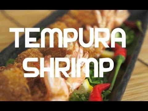 Paano magluto Tempura Shrimp Pinoy Style breaded Hipon recipe Tagalog - Prawn