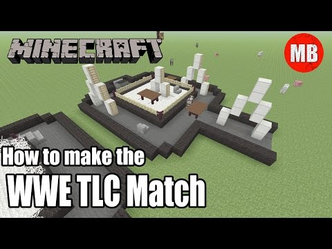 How to Build the WWE TLC Match in Minecraft!